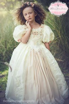 Floating on a Cloud Flower Girl Dress,First Communion Dresses,Toddler Dresses,Princess Ball Gown,Special Occasion Girls Clothing