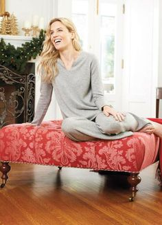 Stay warm this winter with a cashmere lounge set. Make sure to add this to your Christmas gift