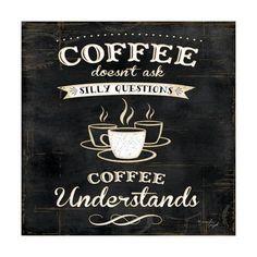 Coffee Understands Pósters por Jennifer Pugh en AllPosters.es
