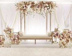 wedding design / furniture rentals White wedding with a minimalist touch of gold and blush pink isn't it stunning and gorgeous 9987874663 reception backdrop wedding design / furniture rentals Wedding Stage Decorations, Wedding Backdrop Design, Wedding Stage Design, Wedding Reception Backdrop, Backdrop Decorations, Wedding Designs, Wedding Mandap, Wedding Receptions, Reception Stage Decor