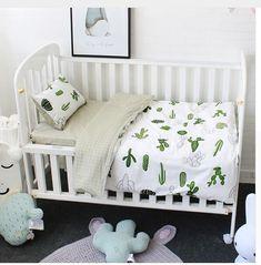 0a4652db2dca5 Testez l ensemble 3 pièces pour literie bébé en coton haute qualité! Nous  vous