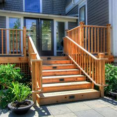 Deck Steps Design Ideas, Pictures, Remodel, and Decor - page 8