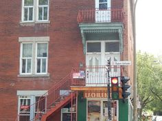 Charming triplex built in 1910 with all the Plateau has to offer - at the corner of St. Urbain and Marie-Anne and at the foot of Mount Royal. Near all servic. Mont Royal Montreal, Apartments For Sale, Cabin, House Styles, Building, Home Decor, Decoration Home, Room Decor, Cabins