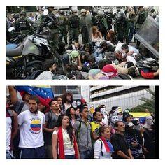 @Julio César Jiménez Gédler @El Impulso Unos 80 manifestantes detenidos este #14M #Caracas tras la marcha q llegó hasta la sede d.. pic.twitter.com/l2djl013kb