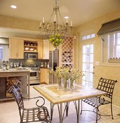 Tuscan Decorating Ideas | Counter tops: The counter tops in a Tuscany kitchen are often made ...