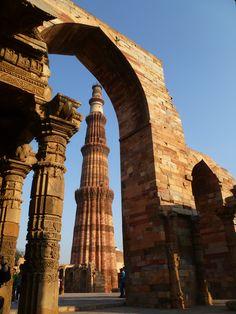 INDIA - Delhi - Qutb Minar Complex