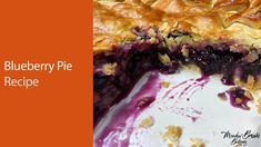 Blueberry pie recipe UK : Blueberry pie recipe that is not runny : Blueb...