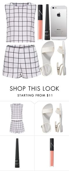 """""""Sem título #524"""" by ziampornm ❤ liked on Polyvore featuring CO, Old Navy and NARS Cosmetics"""