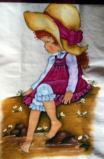 Detalhe eco bag pintura em tecido