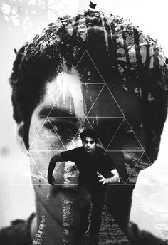Nice Art piece of Stiles, Teen Wolf