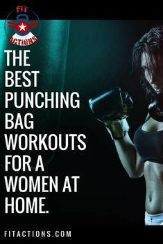 Boxing Workout To Help You Learn Boxing and Lose Fat with a Heavy Bag Women Boxing Workout, Boxing Workout With Bag, Heavy Bag Workout, Cardio Workout At Home, Workout Fitness, Fun Workouts, At Home Workouts, Workout Schedule, Best Punching Bag