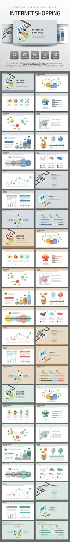 Internet Shopping (PowerPoint Templates)