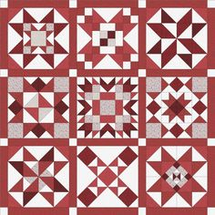 Easy to use, step by step patterns for beginner quilters and up. Designs by Tuning my Heart Quilts