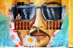 Olinda by Roberto Polillo (street art), via Flickr
