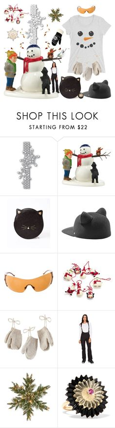 """""""lovely days"""" by didesi ❤ liked on Polyvore featuring Department 56, Karl Lagerfeld, Versace, Sur La Table, North Pole Trading Co., Marmot, National Tree Company, Alice Cicolini, WithChic and GE"""