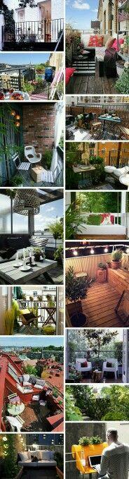 Small balcony tips