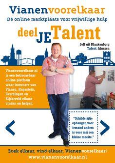 Herfstcampagne 2016 Vianenvoorelkaar. Online marktplaats voor vrijwilligers.