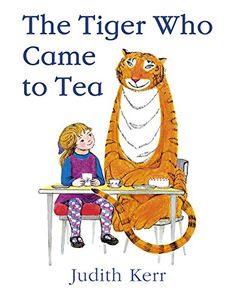 The Tiger Who Came to Tea by Judith Kerr http://www.amazon.com/dp/0007215991/ref=cm_sw_r_pi_dp_0eJNwb1KGA6MM