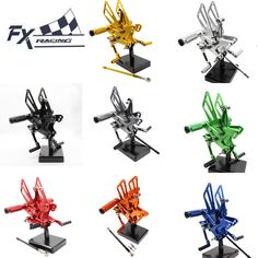 FX Aluminum Motorcycle Rearsets Rear Set Foot Pegs Pedal Footrest For Kawasaki ZX10R ZX 10R 2011-2016 12 13 14 15 Moto Foot Peg //Price: $US $119.69 & FREE Shipping //