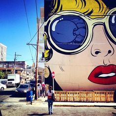 artiste Dface Street Art de combat! #6