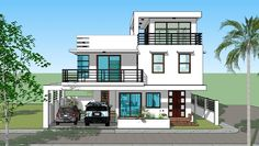 design ideas philippines House Plan Purchase Sets Blueprint Signed & Sealed) - Only Constru. House Plan Purchase Sets Blueprint Signed & Sealed) - Only Construction Contract - P M Low-End/Budget P. 3 Storey House Design, House Front Design, Flat Roof House, Facade House, House Layout Plans, House Layouts, House Construction Plan, Construction Contract, Style At Home