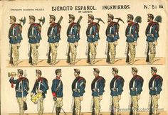 Recortable de soldados: EJERCITO ESPAÑOL, INGENIEROS (Ed.Paluzie num. 51 bis) - Foto 1 Drawing Sketches, Drawings, Confederate Flag, Oragami, Military Uniforms, Paper Folding, Jumping Jacks, Toy Soldiers, Paper Toys