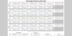 Rugby World Cup Wall Chart 2015 Download