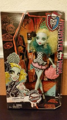 Monster high doll Lagoona Blue found at Toys R Us