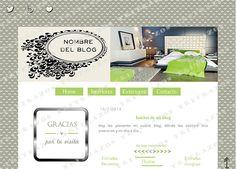 """""""Diseño de blog"""" en venta - Ref. """"Decoración4"""""""