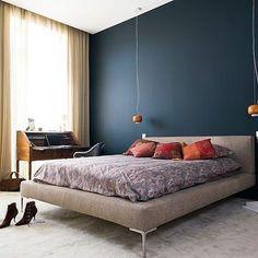 Bordeaux Residence by Agence Couleur #homeadore #bedroom #bed #interior #interiors #interiordesign #interiordesigns #residence #home #casa #property #flat #apartment #loft #bordeaux #france #julienfernandez #agencecouleur