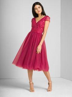 Chi Chi London Madeleine sukienka wieczorowa midi