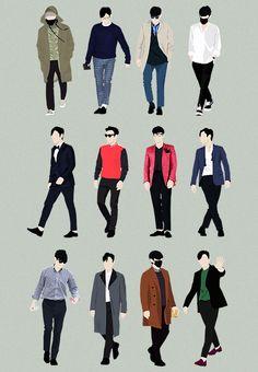 T.O.P/Choi Seunghyun (BIGBANG) // Styles of Choi Seunghyun 2014