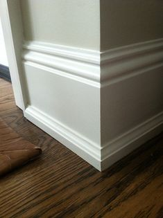 Instead Of The Typical Quarter Round Baseboard Ideas, Baseboard Molding, Shoe  Molding, Baseboard