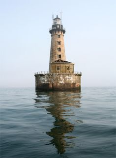 Stannard Rock Lighthouse in Lake Superior
