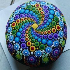 Mandala stone happy holidays. Coming soon ...
