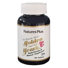 Golden Years    Multi-Vitamin Tablets | Naturesplus.com