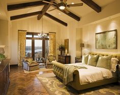 Mediterranean Bedroom Design, Pictures, Remodel, Decor and Ideas - page 5