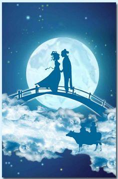 tanabata: a meeting between the stars vega & altair
