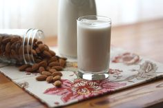How to Make Almond Milk - CLICK ON PHOTO FOR FURTHER INSTRUCTIONS. Will be trying this tomorrow!