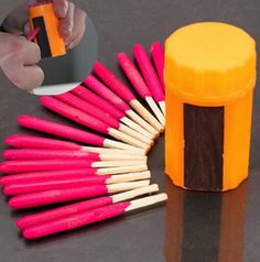 Our Windproof-Waterproof Matches are made with an extra large head to ensure they light, and stay lite, every time. Exterior coating ensure they are able to lite, even when wet. 20 matches included in
