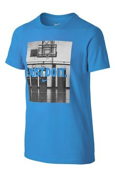 Nike 'Just Do It' T-Shirt (Little Boys & Big Boys)