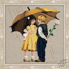 The First Date - Cross Stitch Craft Kits by RIOLIS - 1173