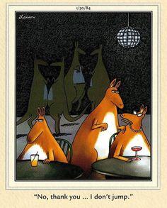 """The Far Side"" by Gary Larson. Far Side Cartoons, Far Side Comics, Physics Humor, Engineering Humor, Cartoon Network Adventure Time, Adventure Time Anime, Cartoon Jokes, Funny Cartoons, Cute Comics"