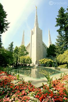 Portland Oregon Temple  brock.alli Photography