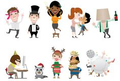 Stanley Chow - Holiday Characters