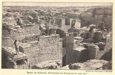 Ruins of City of Babylon 1913