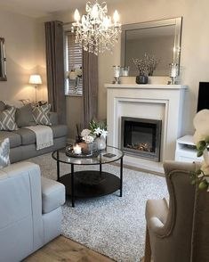 Living room goals 😍 Comment if you agree! Living Room Goals, Home Living Room, Living Room Designs, Living Room Decor, Sweet Home, Budget Home Decorating, Inspire Me Home Decor, Lounge Decor, Family Room Design