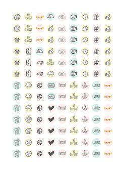 CHICASINSENTIDO D.I.Y : Imprimibles de pegatinas!