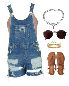 """Outfit #11"" by ancara on Polyvore featuring Topshop, Ray-Ban, Aéropostale, Cartier and Blue Nile"