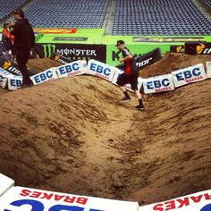"The saying ""Everything is bigger in Texas"" definitely rings true for the whoops this weekend. They're massive. GEICO Honda's Christian Kibby demonstrates."